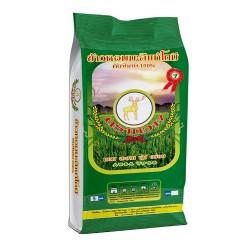ข้าวหอมมะลิคัดพิเศษ 100% ตรากวาง (สีเขียว)
